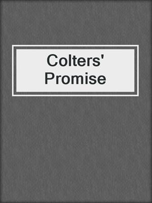 cover image of Colters' Promise