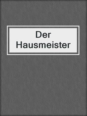 cover image of Der Hausmeister