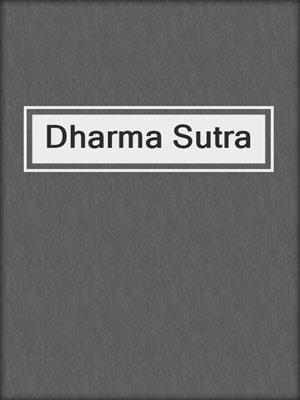 cover image of Dharma Sutra