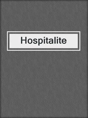 cover image of Hospitalite