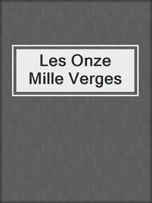 cover image of Les Onze Mille Verges