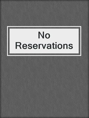 cover image of No Reservations
