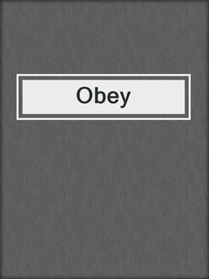 cover image of Obey