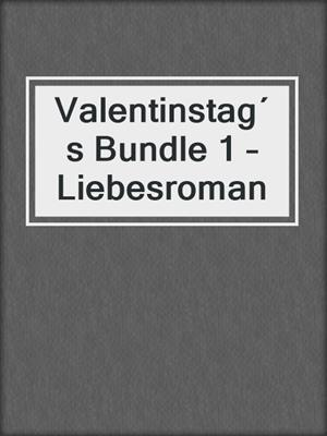 cover image of Valentinstag´s Bundle 1 – Liebesroman